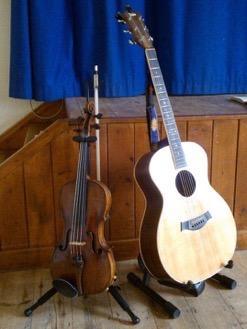 Viola and guitar